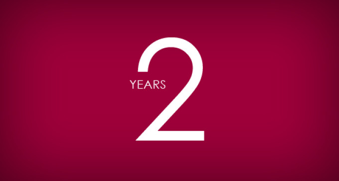 ECO's ENGLISH2周年です!ありがとうございます!サイトもちょこっとリニューアルしました♪